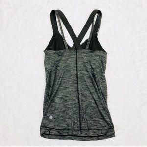 Lululemon athletica training tank with bra